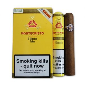 Montecristo Edmundo Tubos (Pack of 3)