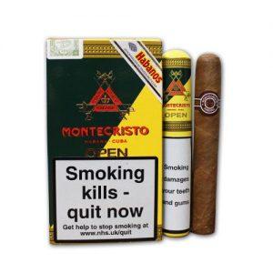 Montecristo Open J Tubos (Pack of 3)
