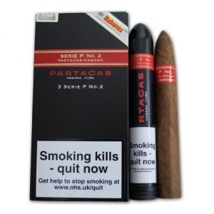 Partagas Serie P No. 2 Tubos (Pack of 3)