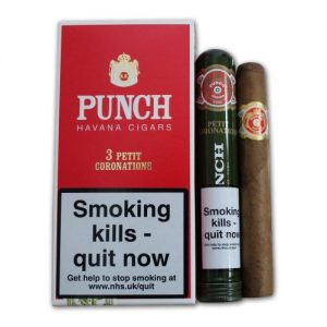 Punch Petit Coronations Tubos (Pack of 3)
