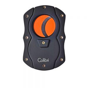 Colibri Coloured Blades Cigar Cutter (Orange)