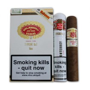 Hoyo de Monterrey Epicure No. 2 - Tubed Cigar - Pack of 3's