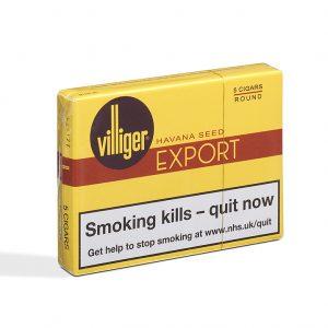 Villiger Export Round Cigar - 1 Pack of 5 (5 cigars)