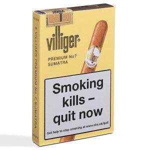 Villiger Premium No. 7 Cigar - 1 Pack of 5 (5 cigars)