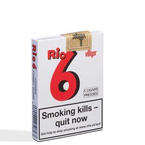 Villiger Rio 6 Cigar - 1 Pack of 5 (5 cigars)