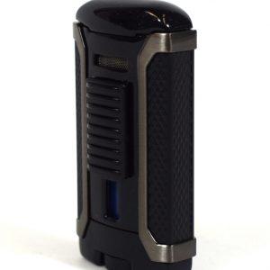 Colibri Apex - Single Jet Flame Lighter - Metallic Black