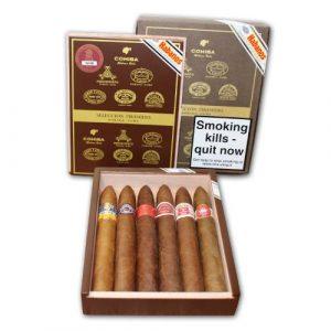 EMS Seleccion Piramides Gift Box - 6 Habanos Piramides Cigars
