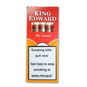 King Edward Tip Cigarillos - Pack of 5 cigars