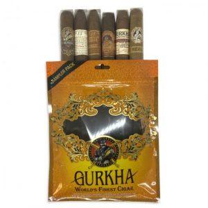 Gurkha Dominican Toro Selection Sampler Bag - 6 Cigars